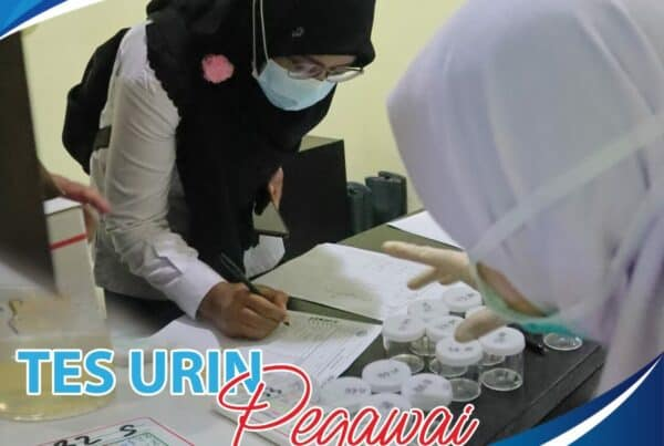 Upaya Deteksi Dini Jajaran Balai Besar Rehabilitasi BNN Jalani Tes Urin