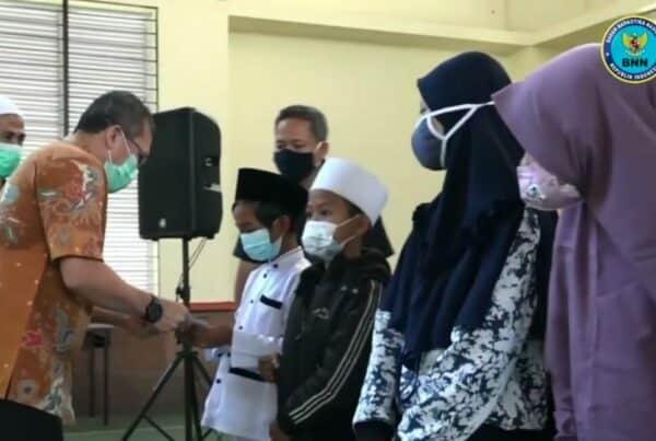Berbagi Berkah Ramadhan , Balai Besar Rehabilitasi BNN Santuni 100 Anak Yatim